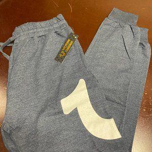 True Religion Mens Comfort Activewear Jogger Pants